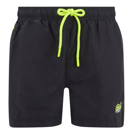 Beach Drawstring Swim Shorts Navy