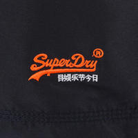 Number Logo Swim Shorts Navy