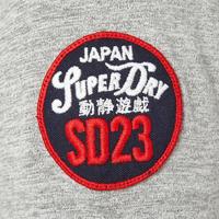 Famous Flyer Logo T-Shirt Grey
