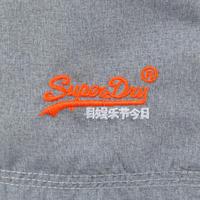 Number Logo Swim Shorts Grey