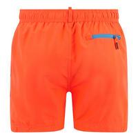 Beach Drawstring Swim Shorts Orange