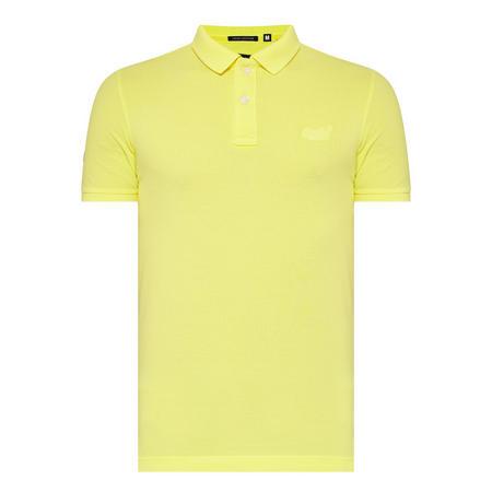 Classic Piqué Polo Shirt Yellow