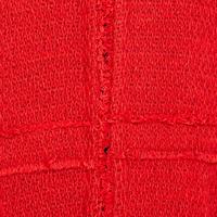 Long Sleeve Tweed Jacket Red