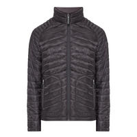 Fuji Double-Zip Quilted Jacket Black