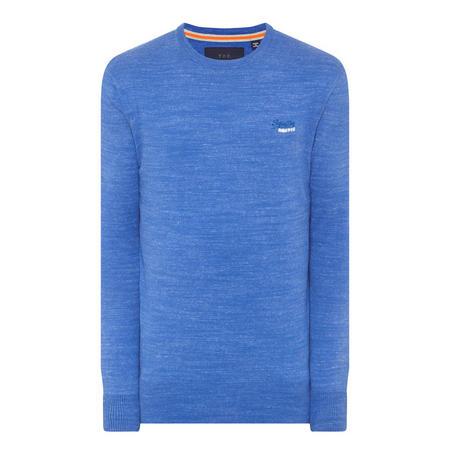 Original Crew Neck Sweater Blue
