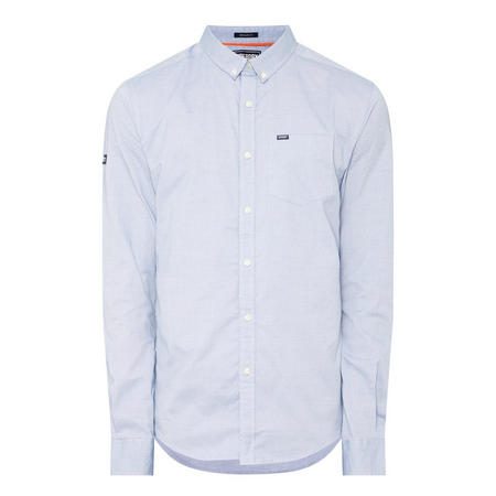 Ultimate Pinpoint Oxford Shirt Blue