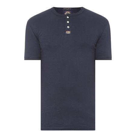 Heritage Grandad T-Shirt Navy