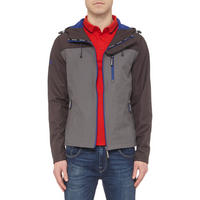 Hooded Windtrekker Jacket Charcoal