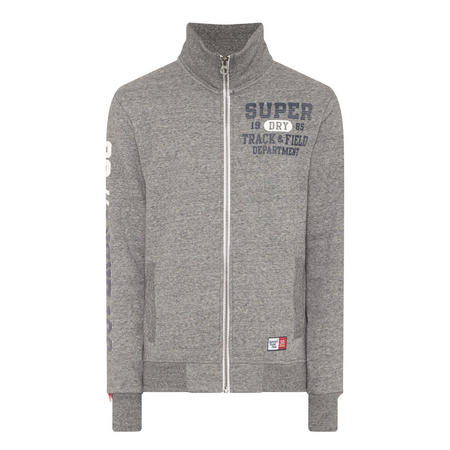 Long Sleeve Sweat Top Grey