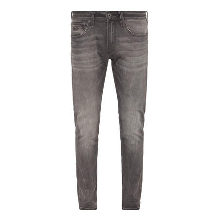 Tapered Slim Fit Jeans Grey