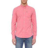 Button-Down Long Sleeve Shirt Pink