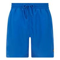Classic Solid Swim Shorts Blue