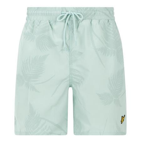 Classic Solid Swim Shorts Green