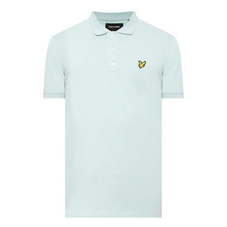 Logo Short Sleeve Polo Shirt Green