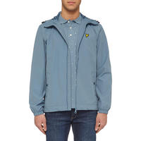 Zip-Through Hooded Jacket Blue