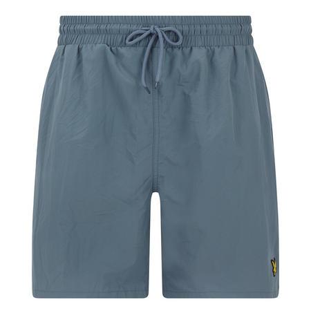 Classic Solid Swim Shorts Grey