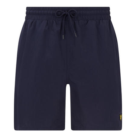 Classic Solid Swim Shorts Navy