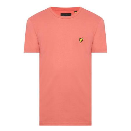 Basic Crew Neck T-Shirt Pink