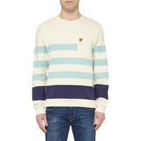 Block Stripe Crew Neck Sweatshirt Multicolour