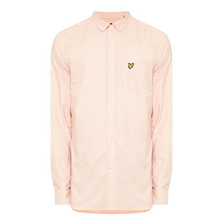 Oxford Long-Sleeved Shirt Pink
