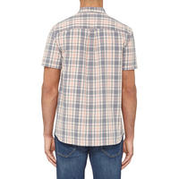 Short Sleeve Check Shirt Multicolour