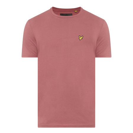 Basic Crew Neck T-Shirt Red