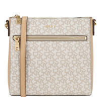 Sutton Logo Top Zip Crossbody