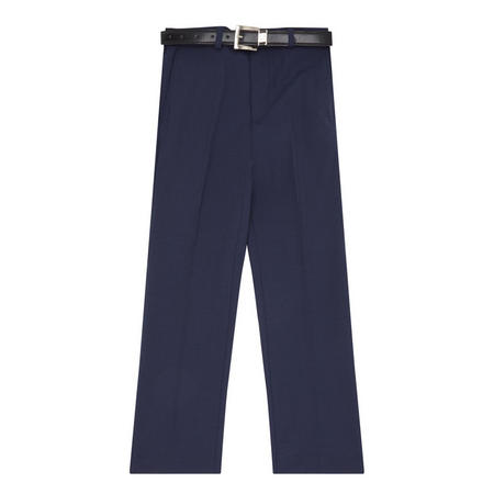 Boys Plain Trousers Navy