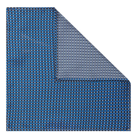Patterned Pocket Square Navy