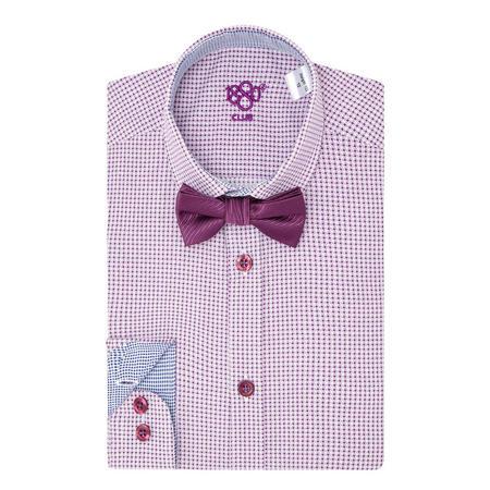 Boys Star Print Shirt Purple
