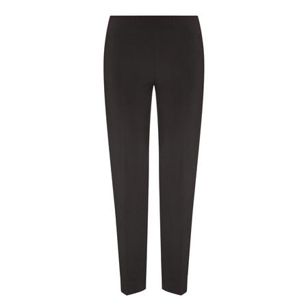 Elasticated-Waist  Trousers