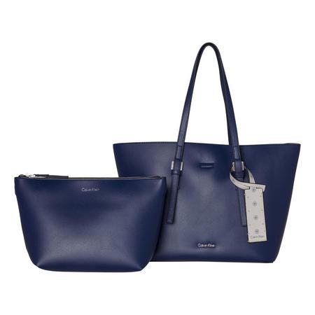 Medium Shopper Bag Blue