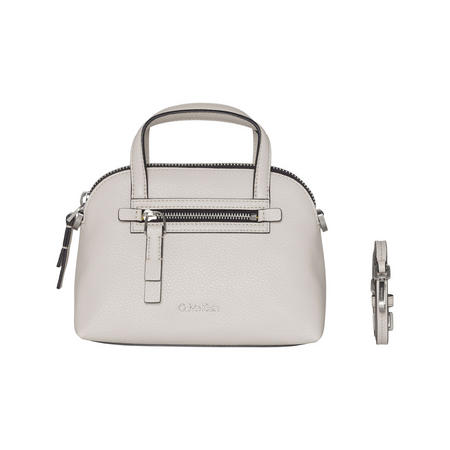 Dome Crossbody Bag White