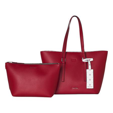Medium Shopper Bag Red