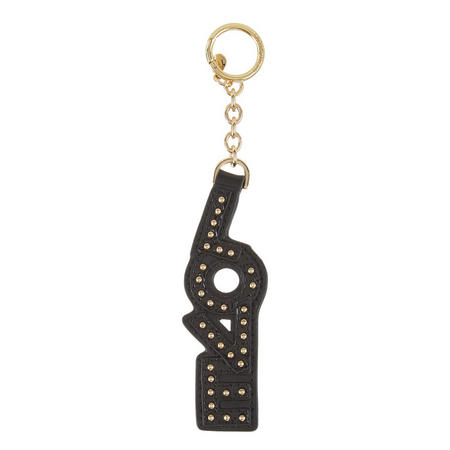 Love Key Ring Black