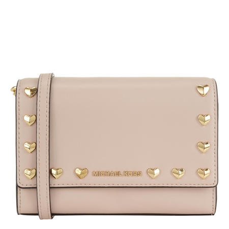 Ruby Studded Crossbody Soft Pink