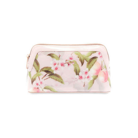 Blondel Peach Blossom Make-Up Bag Pink