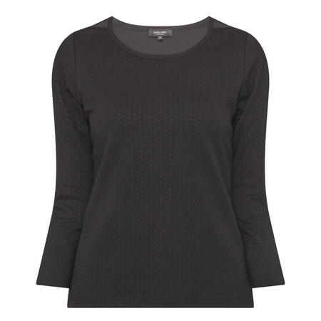 Textured Top Black