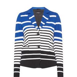 Multi-Striped Blazer Multicolour