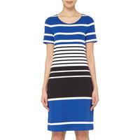Striped Pencil Dress Multicolour