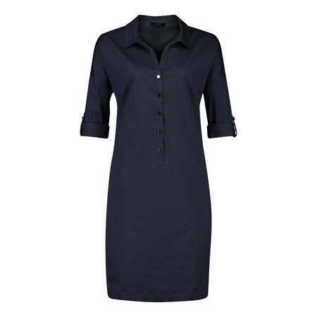 Button-Up Shift Dress