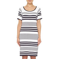 Striped Knitted Dress