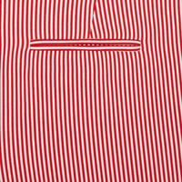Stripe Trousers Red