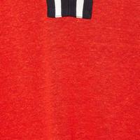 Stripe-Tipped T-Shirt