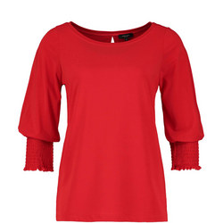 Long Sleeve Top Red