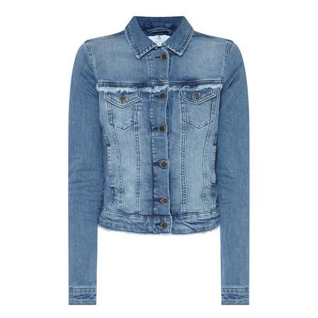 Fringed Denim Jacket
