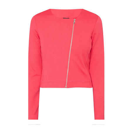Quilted Zip-Through Jacket
