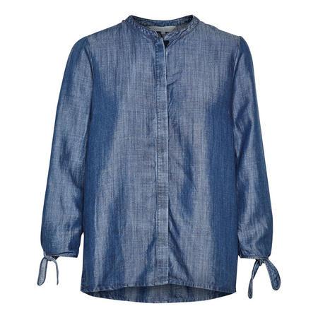 Kimba Chambray Shirt Navy