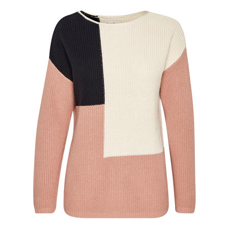 Kodalyn Colour-Block Sweater Multicolour