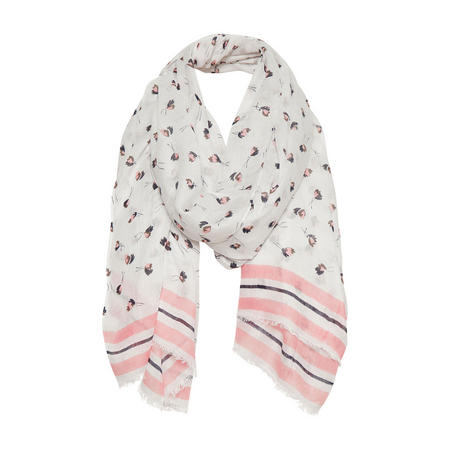 Brixton Floral Scarf Pink